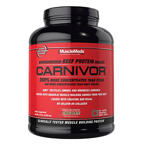 MuscleMeds Carnivor Protein Chocolate Servings product image