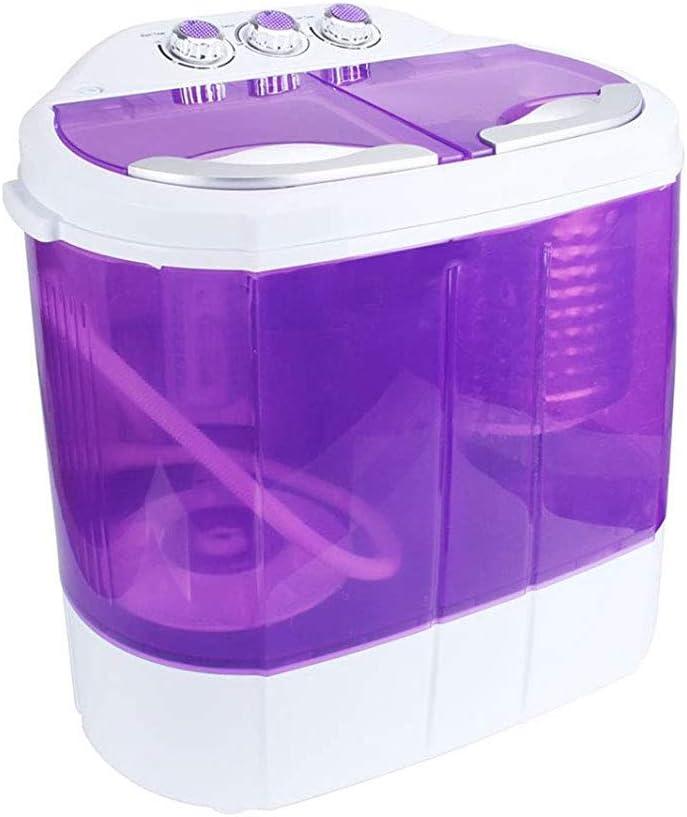 YALIXI Mini Inteligente Lavadora,Pequeño secador de Barril Simple,portátil secadoras Lavadora,Pequeño apartamento para vagones al Aire Libre adecuados para Lactantes