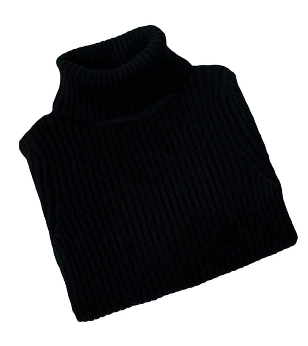 Cromoncent Boys Girls Turtle-Neck Knitting Jumper Childrens Sweaters