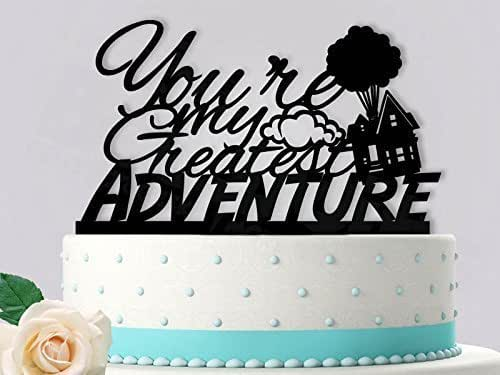 Amazon.com: You Are My Greatest Adventure Wedding Cake