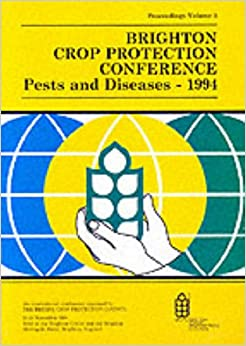 Book Brighton Crop Protection Conference 1994: Vol.1: Pests and Diseases