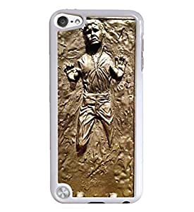 Han Solo White Hardshell Case for iPod Touch 5G iTouch 5th Generation wangjiang maoyi by lolosakes