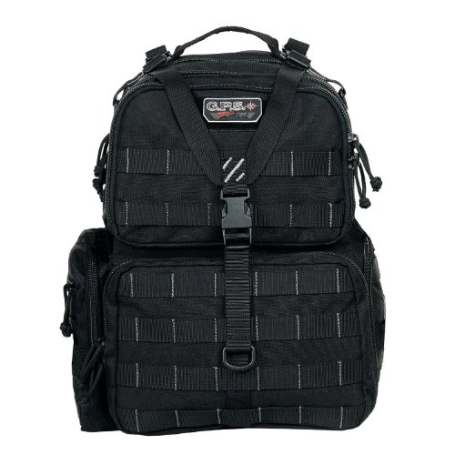 G.P.S. Tactical Range Backpack, black