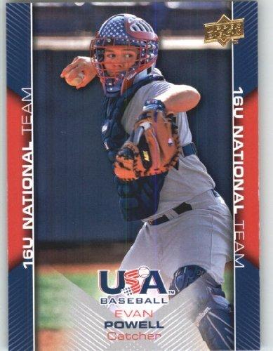 Upper Deck Usa Rookie Baseball - 2009 Upper Deck USA Baseball Rookie Card #USA-57 Team USA