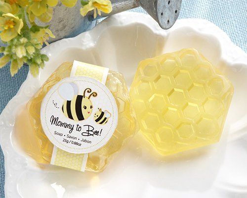 Mommy To Bee Honey-Scented Honeycomb Soap – 24 by Kateaspen