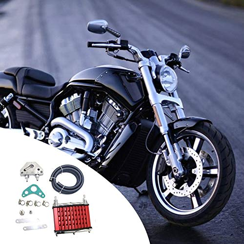 Surobayuusaku Oil Cooler Radiator Cooling For 140cc 150cc 160cc 250cc TTR SSR Dirt Pit Bike ATV Automotive Tools