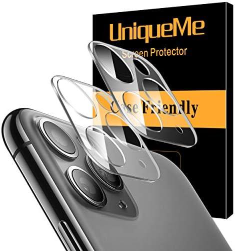 [해외][ 2 Pack] UniqueMe Camera Lens Protector for iPhone 11 ProiPhone 11 Pro Max Tempered Glass Easy Install 9H Hardness HD Clear / [ 2 Pack] UniqueMe Camera Lens Protector for iPhone 11 ProiPhone 11 Pro Max Tempered Glass Easy Install ...
