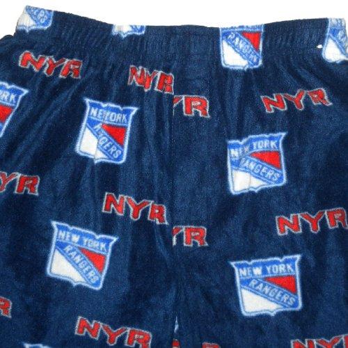 new concept eb10d 9de7b NHL New York Rangers Mens Polar Fleece Thermal Pajama Pants ...