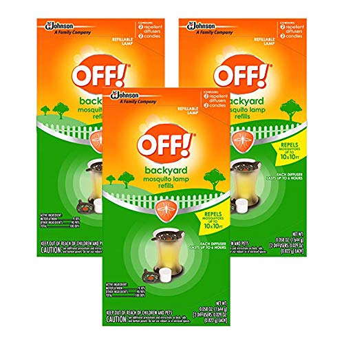 - OFF! Mosquito Lamp Refill, 2 CT (Pack - 3)