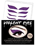 Violent Eyes - The Violet Glitteratti - Set of 8 Temporary Eye Appliques
