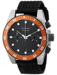 Electric Men's EW0070020036 DW02 Nato Band Analog Display Japanese Quartz Black Watch