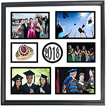 Amazon Com 7x10 Class Of 2018 5 Opening Collage Portrait