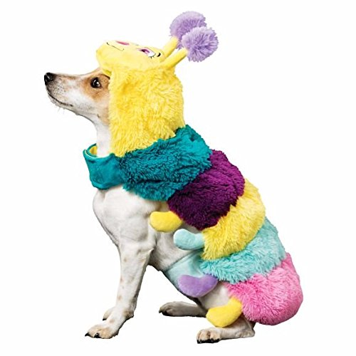 Thrills & Chills Caterpillar Pet Dog Halloween Costume - Small