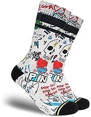 FLINCK Sportsokken Pain Cave - Crossfit Sokken, Hardloopsokken, Fitnesssokken, Fietssokken met Naadloze Teensluiting