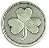 Lot of 3! Shamrock 3 Three Leaf Clover Good Luck Pocket Token Charm Coin with Prayer Health Happiness