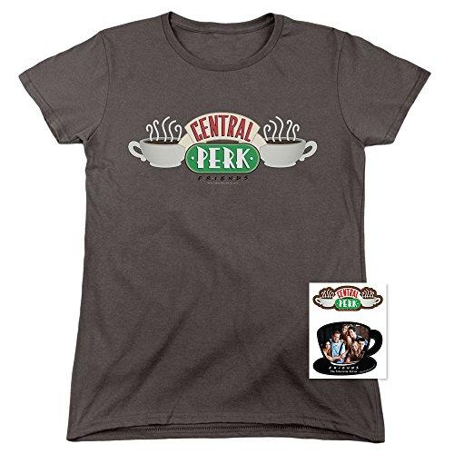 Popfunk Friends TV Central Perk Womens T Shirt & Stickers