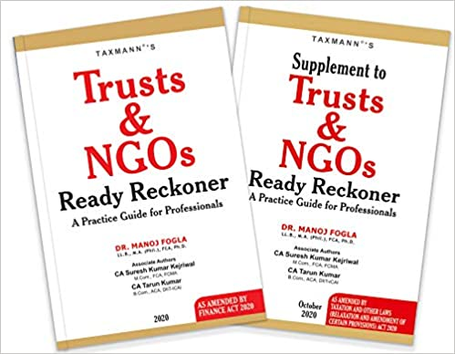 Taxmann's Trusts and NGOs Ready Reckoner with Supplement