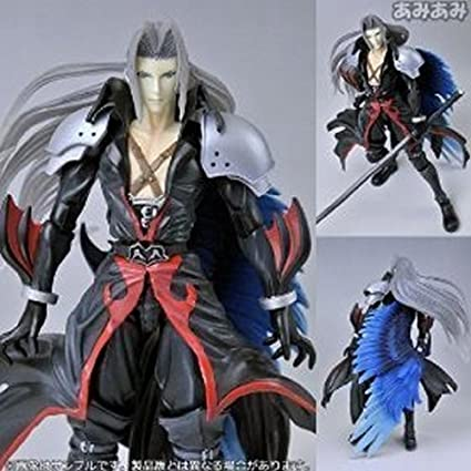 Kingdom Hearts Sephiroth Coliseum Version Play Arts Action Figure Import Japan