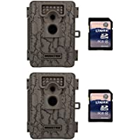 Moultrie A-5 5 MP Trail Game Cameras, 2-Pack w/ SD Cards (Certified Refurbished)