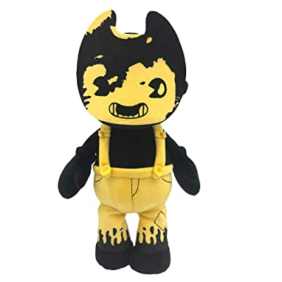 "Bendy and The Dark Revival - 7"" Beanie Plush (Sammy Lawrence): Toys & Games"
