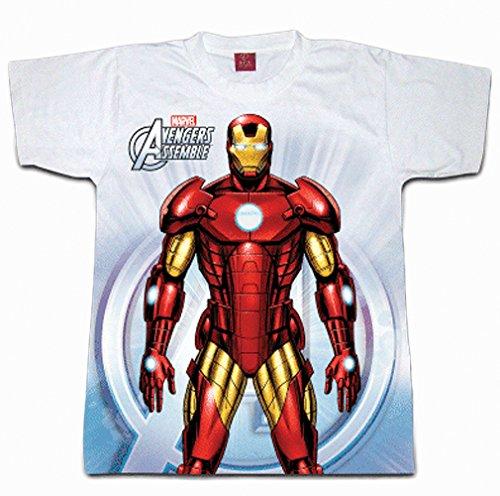 Digital Dudz White Ironman Chest Reactor Shirt Adult Costume XX-Large