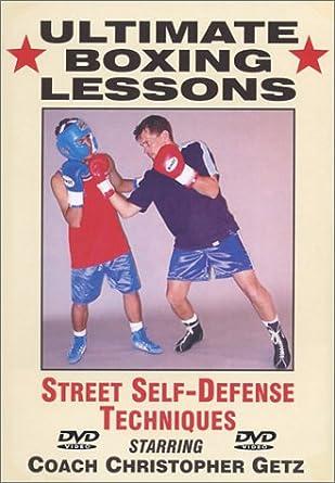 Amazon com: Ultimate Boxing Street Self-Defense Techniques