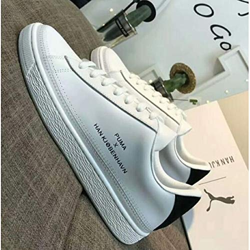 Primavera Cerrado White Comfort Zapatos ZHZNVX Blanco Flat de Leather Dedo pie Verano Mujer Nappa del Sneakers Heel XdqwaP