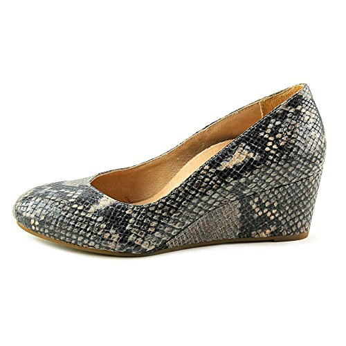 Vionic Antonia Womens Leather Wedge Natural Snake - 6.5 by Vionic (Image #4)