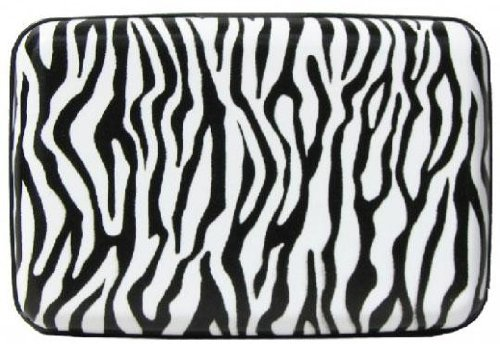 Aluminum RFID Credit Card Cases (Zebra), Bags Central