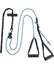 Schlingentrainer XPE Basic - Sling Trainer Ganzkörpertraining mit Umlenkrolle, Türanker - Videoanleitung + Trainingsplan - Fitnessgerät für Zuhause, Home Workout, Home Gym, Home Trainer