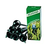 REARAND Plant Automatic Drip Watering Self Watering System Watering Spikes with Adjustable Flow Rate for Vacation Plant Watering (Packing 6)