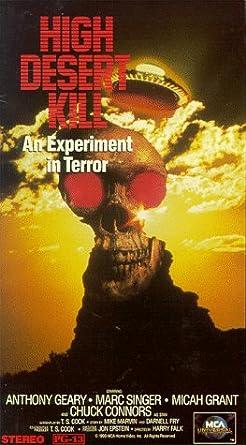 Amazon com: High Desert Kill [VHS]: Marc Singer, Anthony