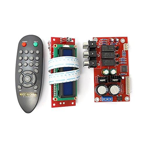 PGA2311 Volume Remote Control Preamplifier Kit+LCD