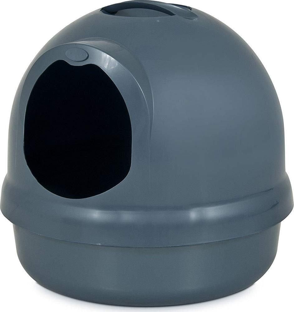 Petmate Booda Dome Litter Box, Dark Blue by Booda
