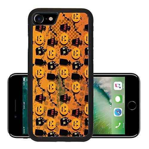 Liili Premium Apple iPhone 7 Aluminum Backplate Bumper Snap Case iPhone7 ID: 24240592 Halloween wallpaper (Cute Halloween Wallpaper Iphone)