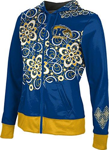 ProSphere Kent State University Girls' Zipper Hoodie, School Spirit Sweatshirt (Foxy) -