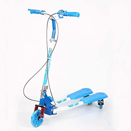 KOBOOW Patinete Doble Slider Fliker Scooter de 3 Ruedas ...