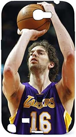 Amazing Character Pau Gasol Hard 3D Phone Case For Samsung Galaxy Note2: Amazon.es: Electrónica