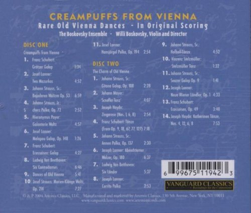 Creampuffs from Vienna / Various
