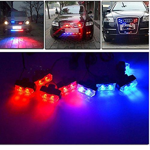 LED Emergency Light Strobe Light Vehicle Warning Light Car And Truck Deck  Emergency Strobe ...
