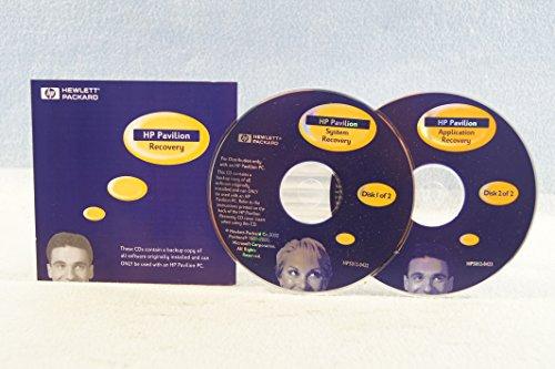 hp-hewlett-packard-system-recovery-2-disc-set-pc-computer-program-software-install-disc-driver-part-