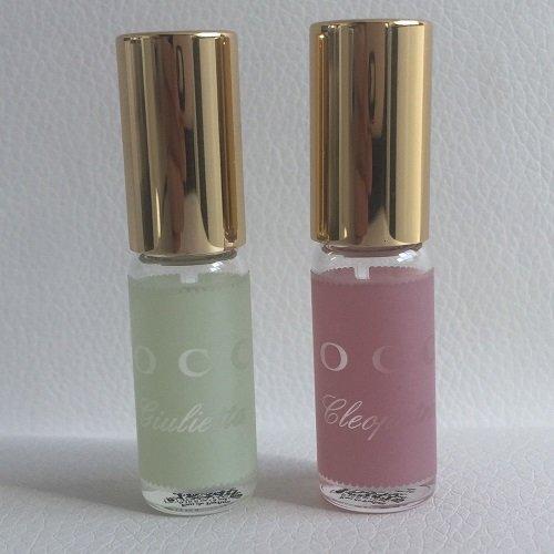 Tocca Cleopatra & Giulietta EDP Mini Rollerballs 0.1 Oz Each (0.1 Ounce Edp Mini)
