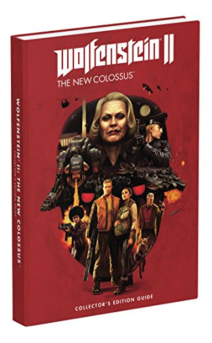 Wolfenstein II: The New Colossus: Prima Collector's Edition Guide cover