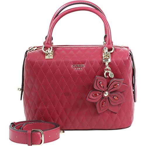 Guess Women's Sibyl Metallic Lipstick Box Satchel Handbag