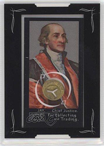 (John Jay (Football Card) 2008 Topps Mayo - Mini Framed Americana Relics - [Memorabilia] #AR-JJ )