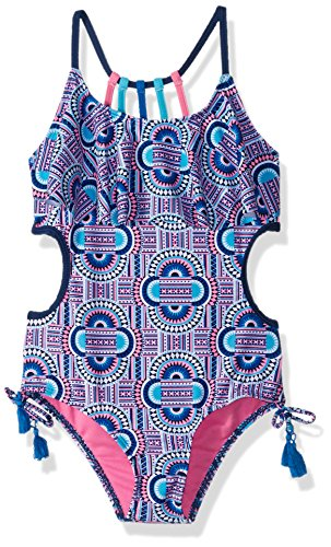 Limited Too Little Girls' Bright Geometric 1pc, Navy, 6X