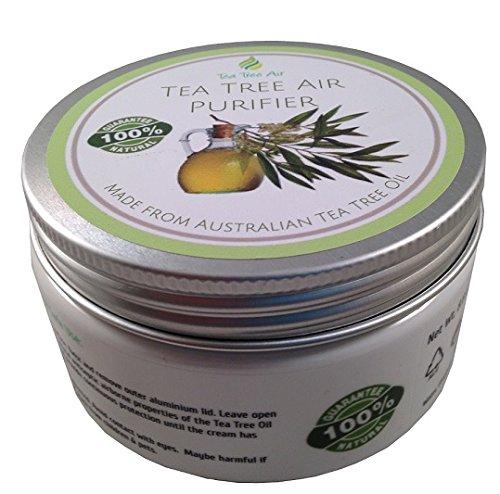 Tea Tree Air Purifier (8.8oz) ✔ All Natural Air Purifier Cream, Kills Mold, Prevents Bacteria, Air Freshener, Air Conditioner - ON SALE $34.88 ✔