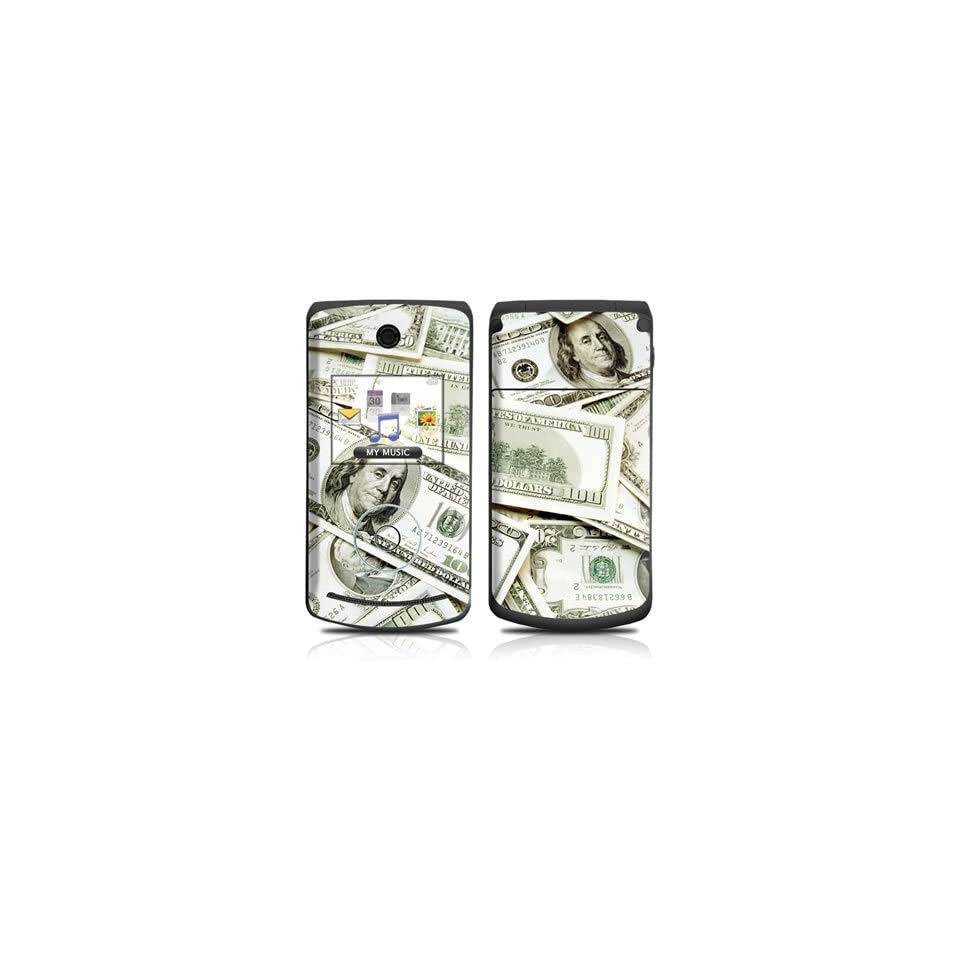 Benjamins Hundred Dollar Bills Design Protective Skin Decal Sticker for LG Chocolate 3 VX8560 Cell Phone Cell Phones & Accessories