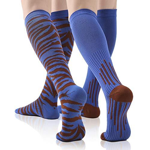 Jurgen K Compression Socks Women & Men - Funny Compression Stocking for Pregnancy,Nurse,Athletic