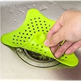 BeeSpring Silicone Suckers Bathroom Sink Accessories For Bathroom Sucker Sink Filter Sewer Hair Colanders Strainers Filter 1PCS